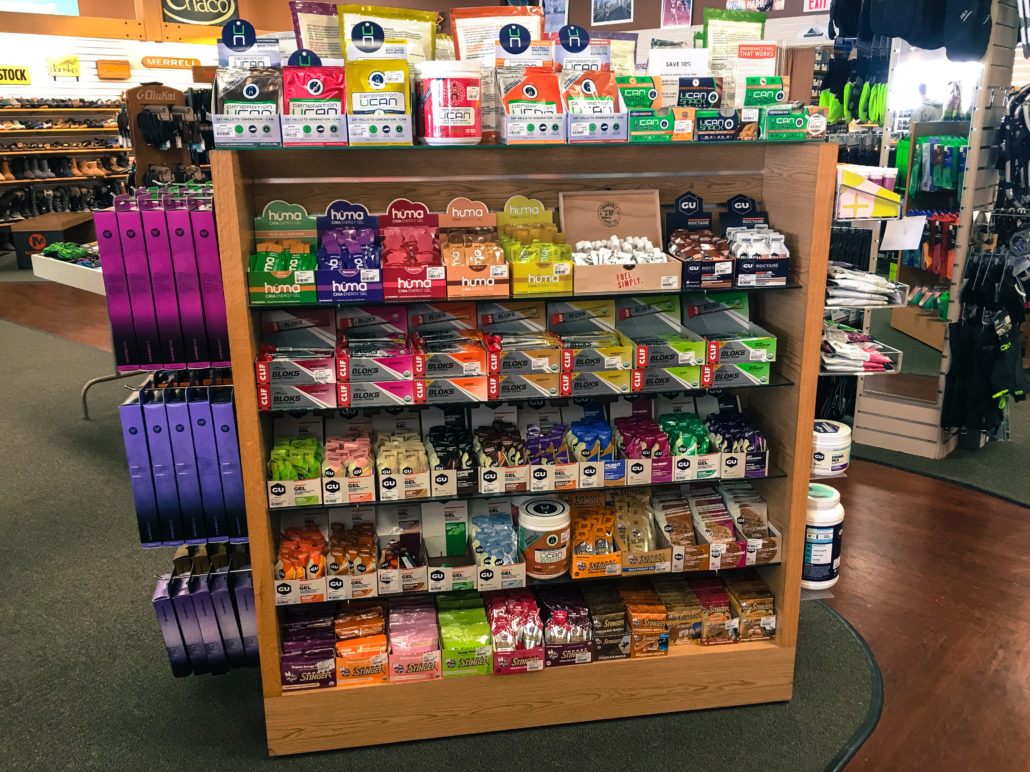 Nutrition Products @ Medved Running & Walking Outfitters