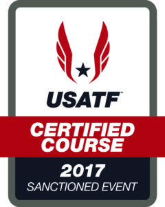USATF Certified Course 2017 Sanctioned Event