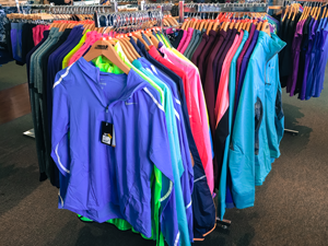 Athletic Clothing @ Medved Running & Walking Outfitters